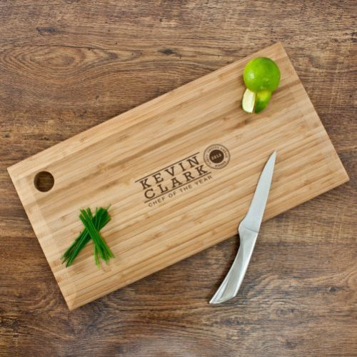 Personalised Chef of the Year Chopping Board